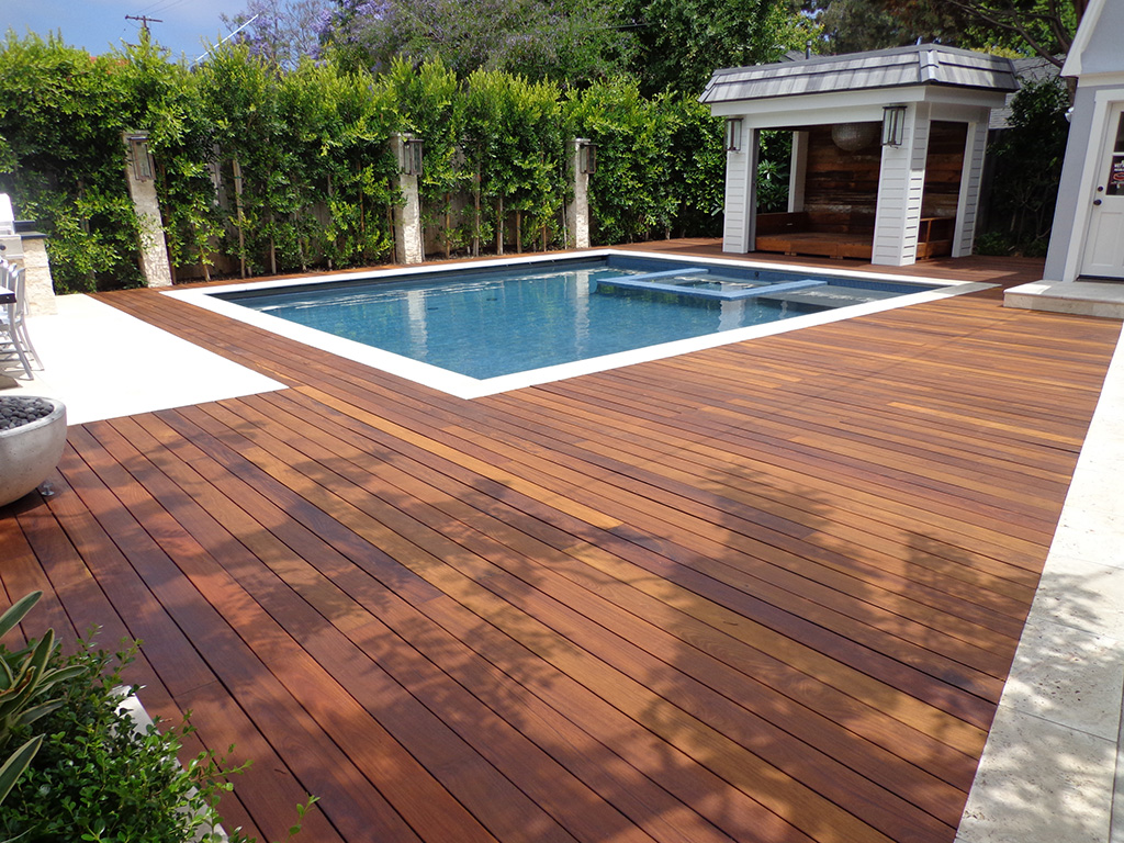 Ipe wood deck refinishing for What is the best wood for decking
