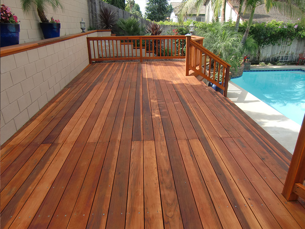 redwood deck restoration. Black Bedroom Furniture Sets. Home Design Ideas