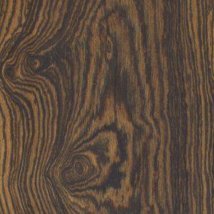 a closeup of bocote wood grain