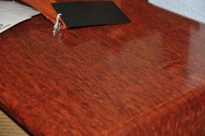 a bubinga table top