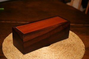pink ivory wood box