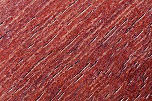 a closeup of purpleheart wood grain