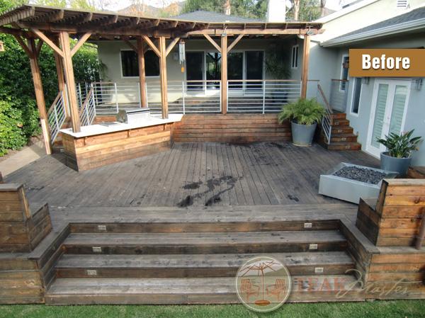 Deck Refinishing Amp Restoration Los Angeles