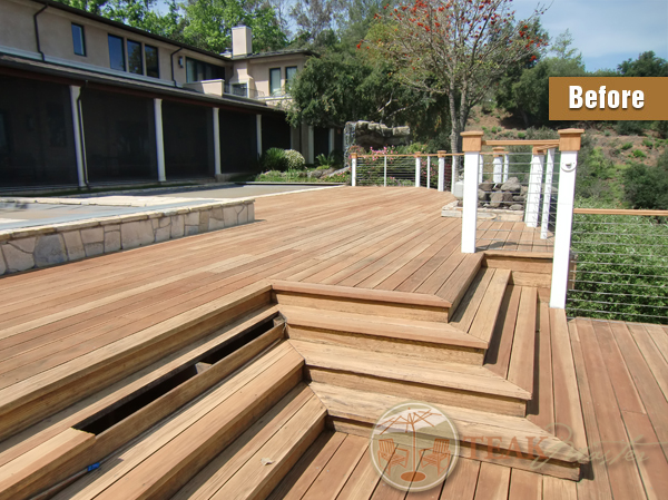 Cedar Deck Refinishing
