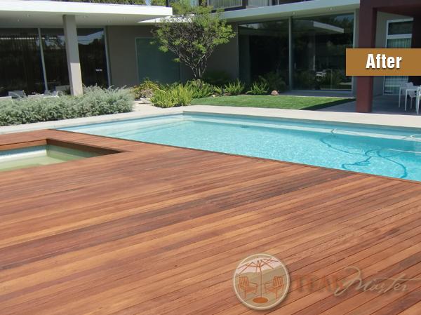 Mangaris Deck Refinishing