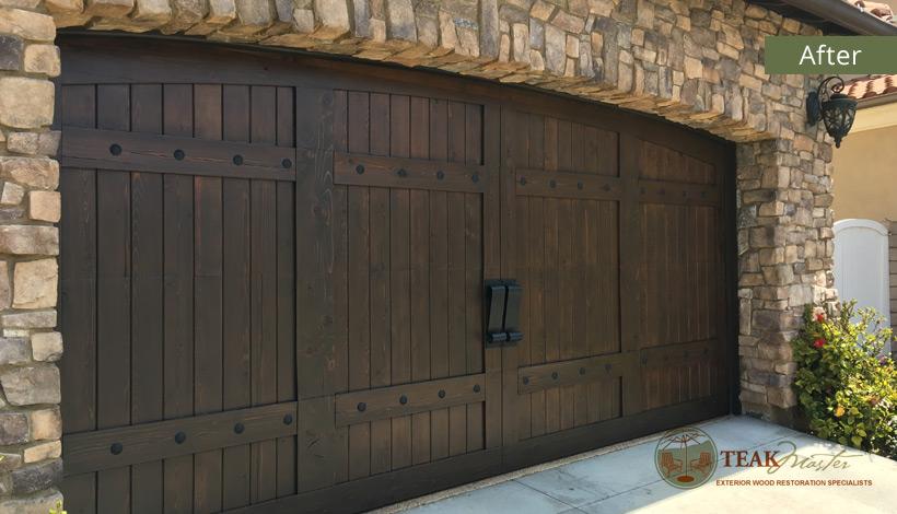 Garage Door Restoration
