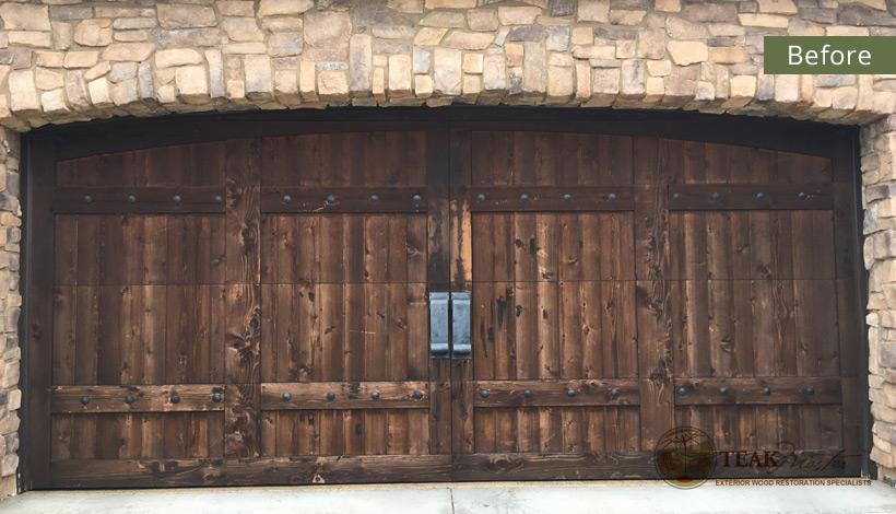 Garage Door Refinishing