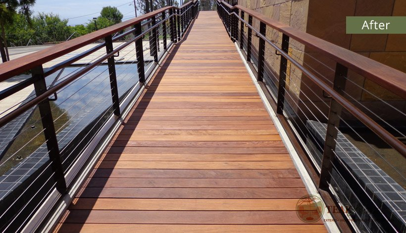 Ipe Wood Deck Refinishing