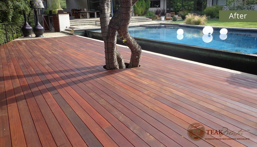 Mangaris Deck Refinishing