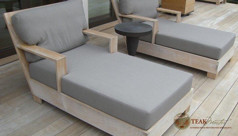 how to clean teak furniture
